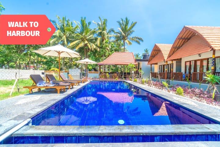 Explore Penida Turquoise Beach & Stay in Snug Room