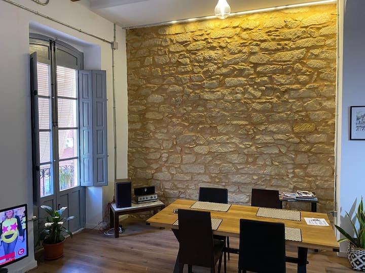 Renovated 2 bedroom flat in Alicante city center