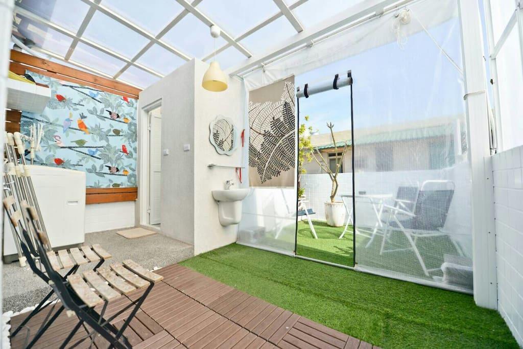 四樓房客專屬空中花園
