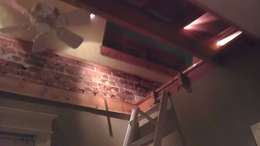 Private one bedroom with loft - Washington - Huis
