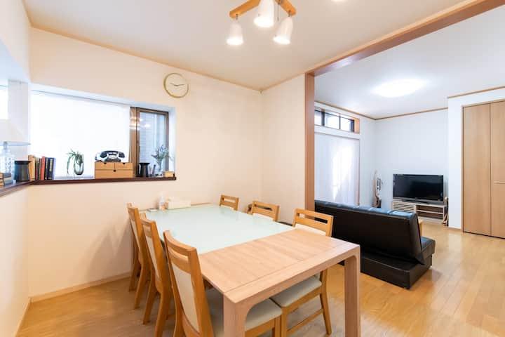 House/3BR/9ppl/Shinjuku10min/WiFi/EarlyCheckin