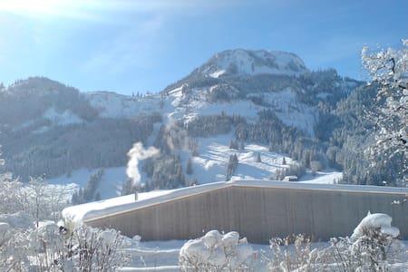 Sonniger Ausblick zum Berg - Bad Hindelang - Byt