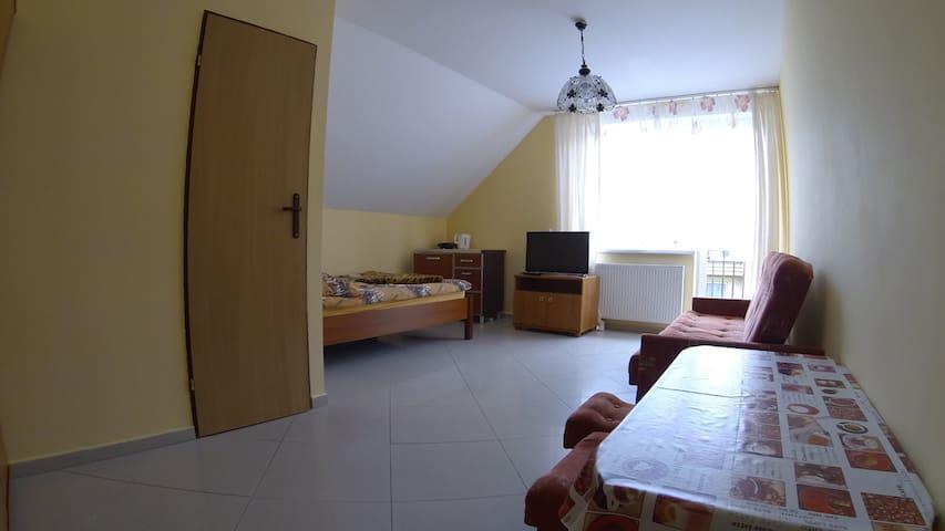 Room w/balcony 400m to beach - Ustronie Morskie - Huis