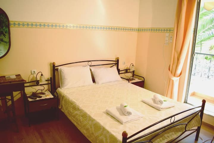 Stoa Rooms | Studio with private balcony