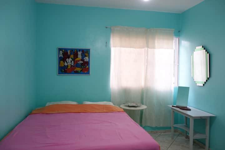 Private Room Doble Pink- Casa Azul Apartment