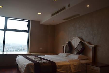 舒适公寓紧靠西湖及河坊街loft家庭套房 - Hangzhou - Wohnung