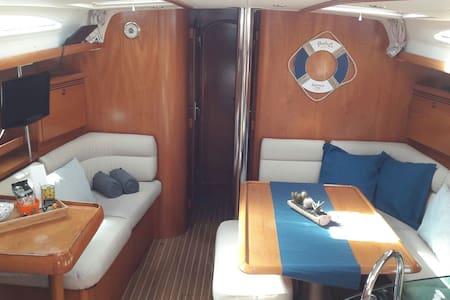 Amplio y confortable barco velero - Puerto Calero, Canarias, ES - Hajó