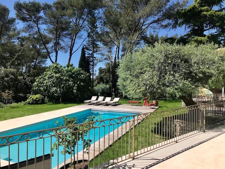 Villa, Piscine chauffée, Sauna et Jacuzzi