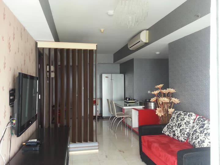 Braga Aston apartement/braga city view bandung 2BR