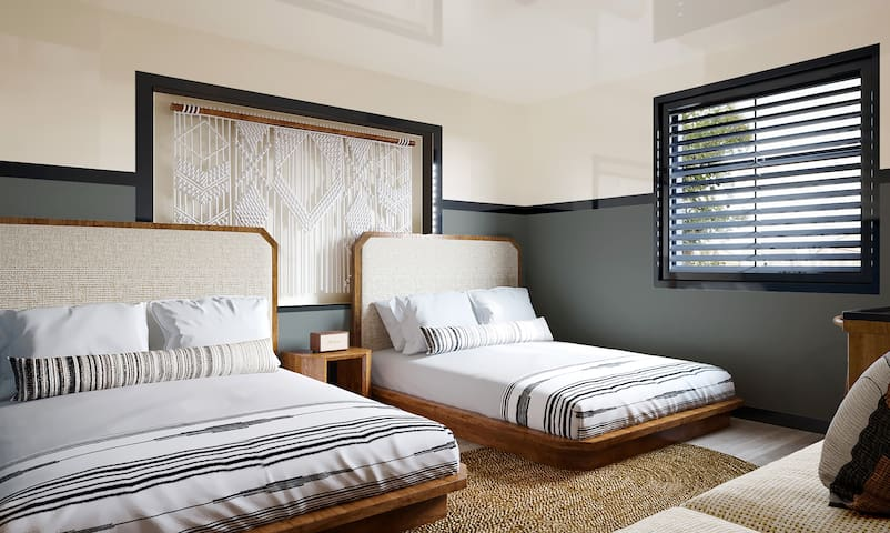 Cozy Double in Boutique Hotel - Mid Beach
