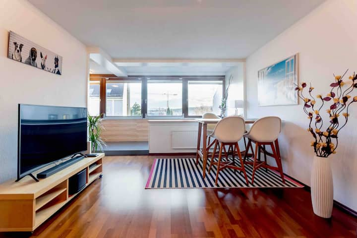 All-new 86m², luxury apt. with garage parking incl