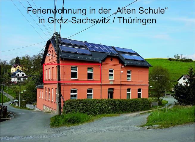 """Ferienwohnung in der """"Alten Schule"""" Sachswitz"""
