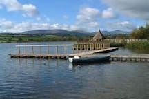 Nearby Llangorse lake is Wales' largest natural lake and is famous for its course fishing, water sports and the only crannog in Wales