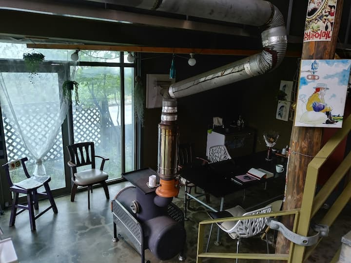 Paju in Spoon house