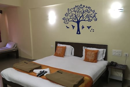 Cozy rooms with attached bath - Manipal - Apartament