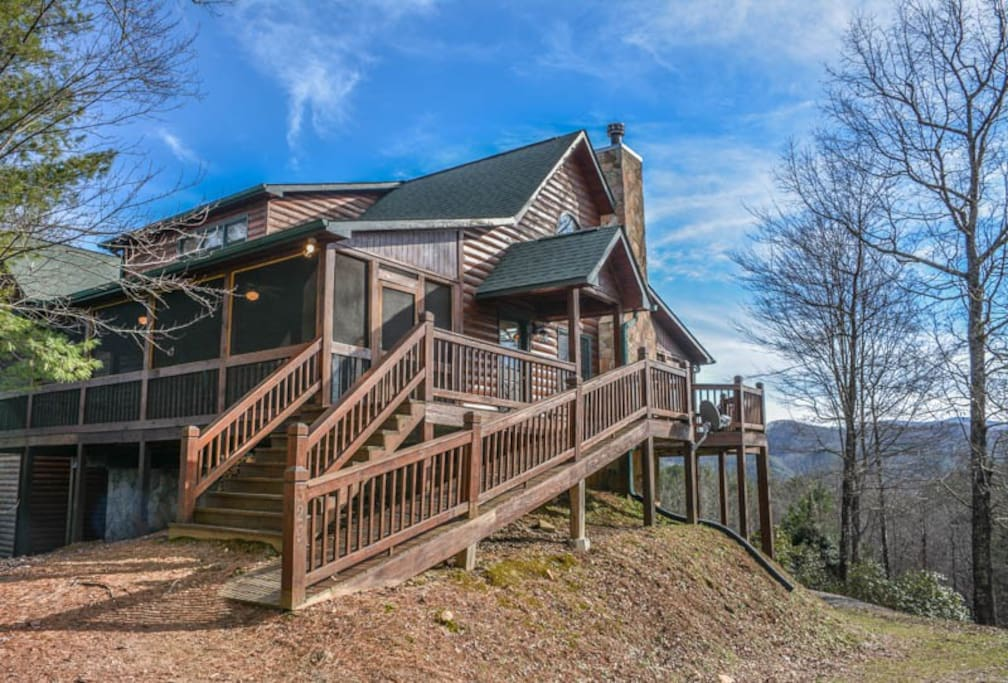 Mlc Paradise Lodge Cabins For Rent In Blue Ridge