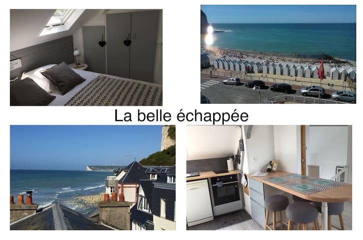 Jolie escale «La Belle échappée» pleine vue mer