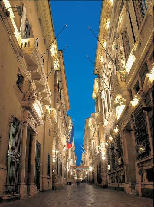 Via Garibaldi, Genoa's most important and central street