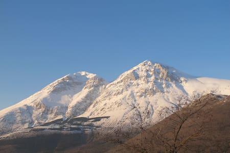 La casa ad un ora da Roma per andare a sciare! - Province of L'Aquila - 独立屋