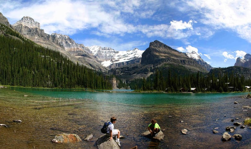 The Rocky Mountains are full of hidden lakes and fantastic trails. Come and explore the Rockies!