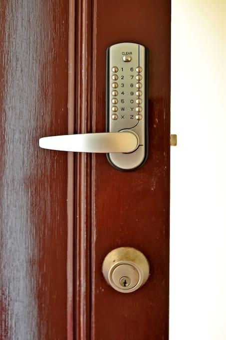 Digital keypad entry