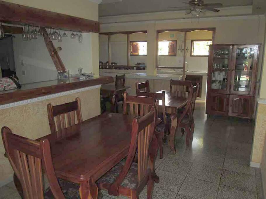 Sala-comedor-bar