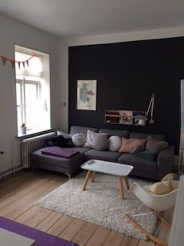 Lækker lys velholdt lejlighed centralt beliggende - Kolding - Appartement