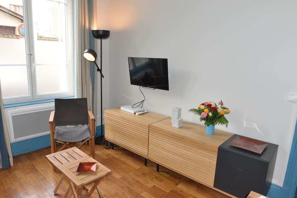 Logement t2 en rez de chauss e appartements en r sidence for Appartement a louer meuble lyon