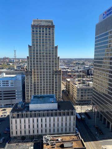 Great view and location in the heart of downtown