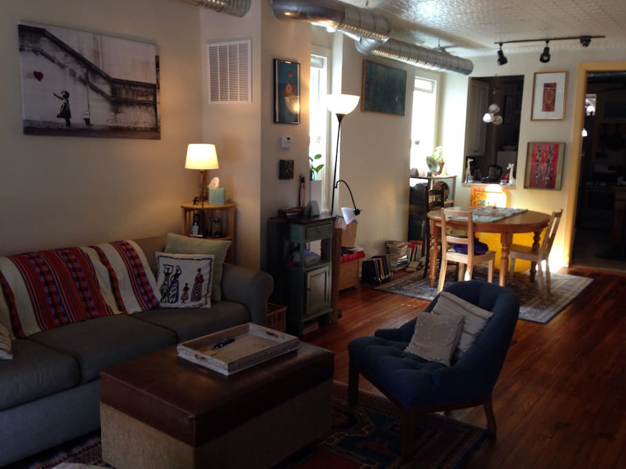 Eclectic home near jhu in trendy remington houses for rent in baltimore ma - Matelas dunlopillo trendy room 24 ...