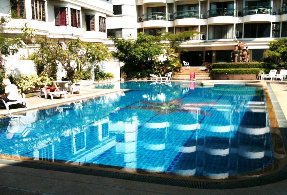 Swimming Pool on the 4th floor.