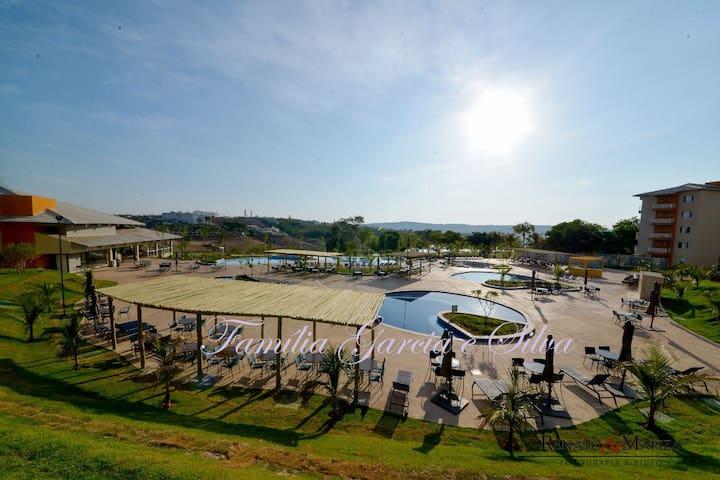 Ilhas do Lago Eco Resort - Piscinas