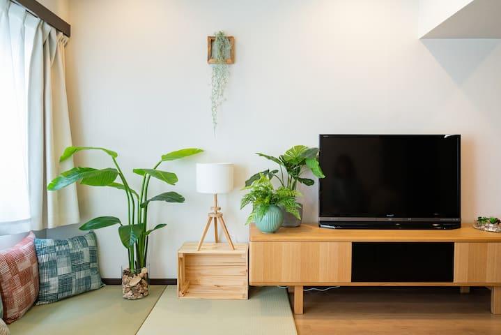 [PL10E] 3 min Sta.! Sunny spacious modern 3LDK.