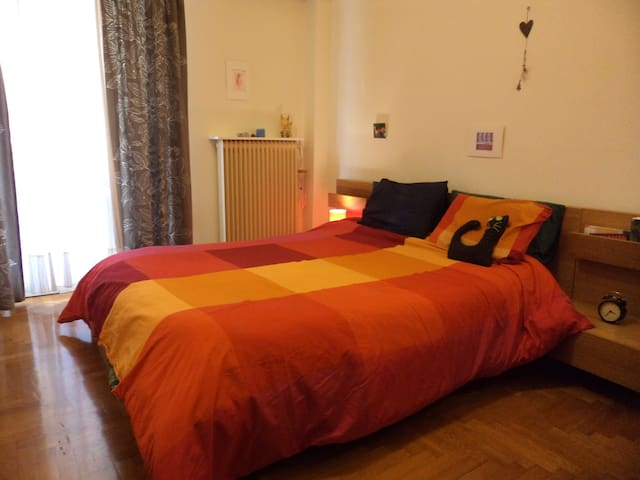 3 bedroom cosy flat /8 visitors/15min from Center - Nea Smirni - Appartement