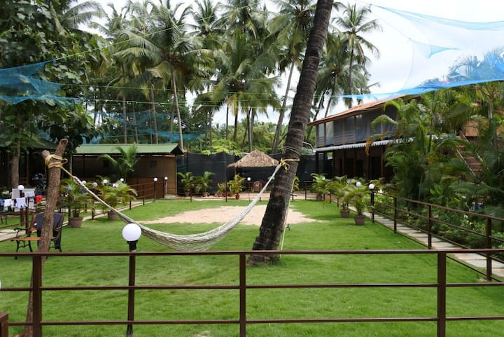 Club House at Palolem Beach 2