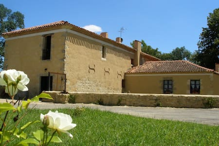 """Chambre d'hôtes Le Moulin de Laumet """"Manseng"""" - Vic-Fezensac"""