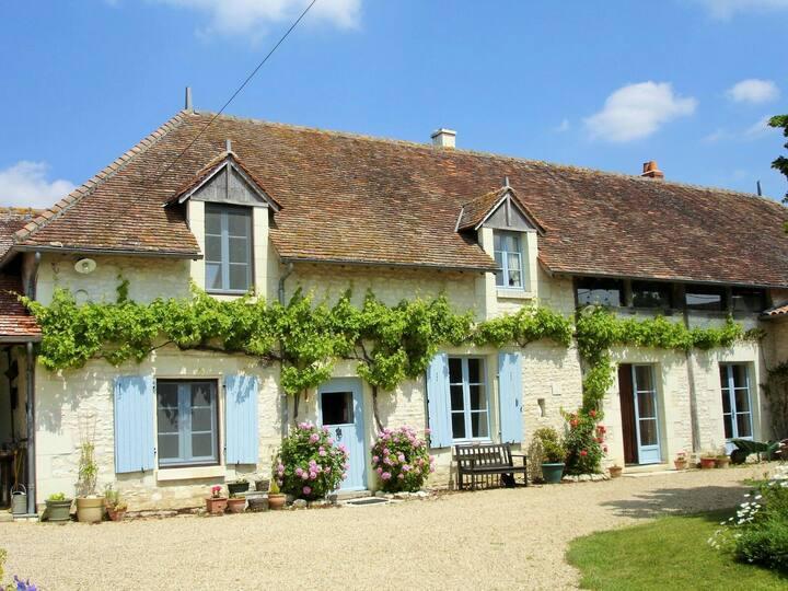Vakantie nemen in het zuiden van de Loire Streek.