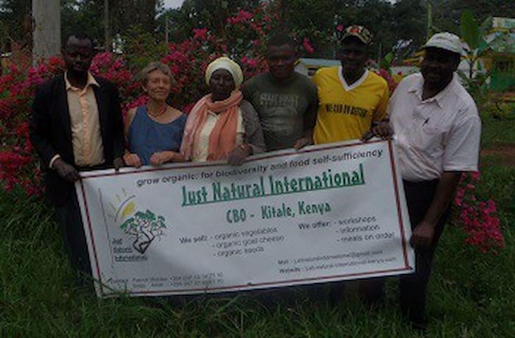 Vacances écolo chez l'habitant paysan au Kenya