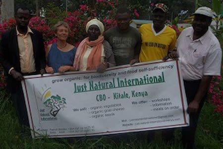 Vacances écolo chez des paysans au Kenya