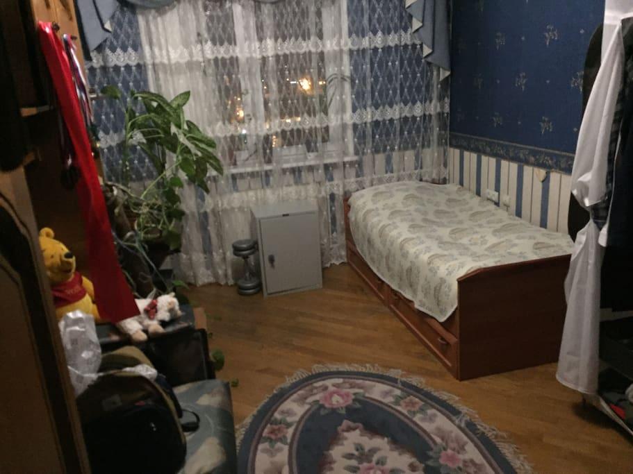 Комната,где гости будут проживать