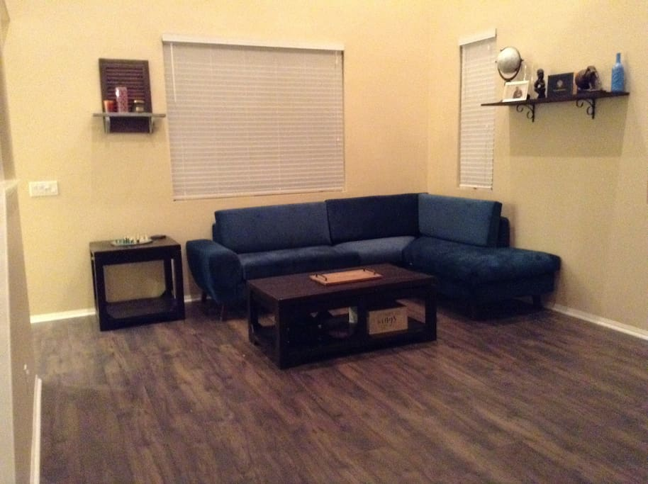 Our sitting/living room