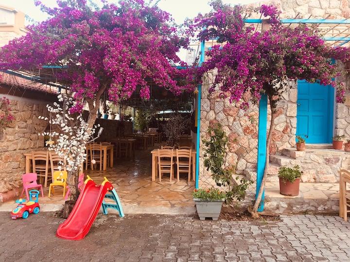 Eski Datça Meltem apart & cafe & kekik odası