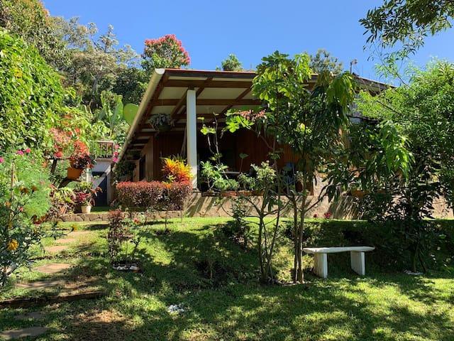 Cabaña con vistas en Juayúa