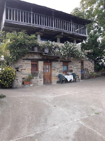Apartamento rural en Valdés luarca