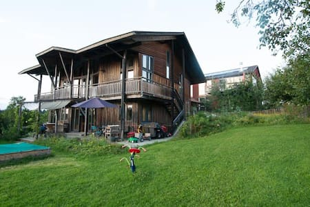 Individual Eco-Countryhouse - Gstadt am Chiemsee - บ้าน
