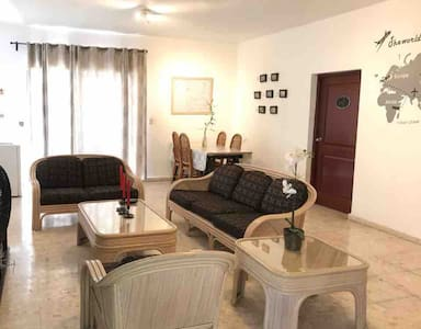 Private zone, two big rooms, balcony, living room