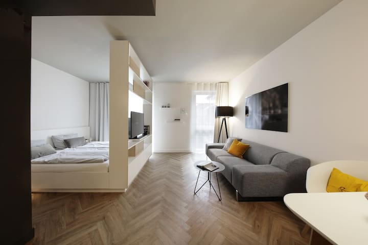 Serviced Apartment- Studio XL in Munich
