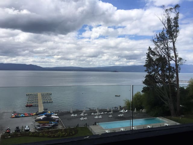 Lago Villarica Espectacular Depto. - Villarica Pucon - Appartement