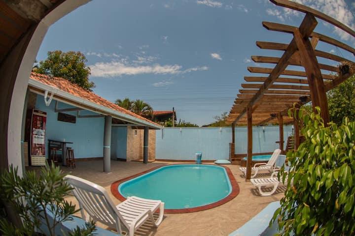 Recanto Perico apartamento com piscina