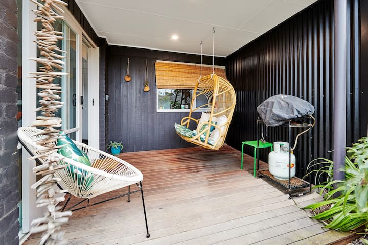 Double hanging chair.... just perfect!